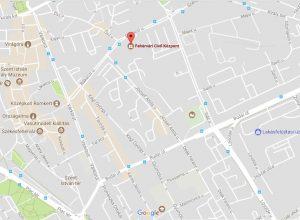 Civil Központ térkép